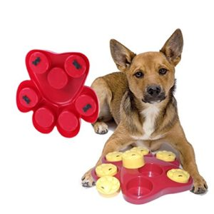 slow down your dog or cat eating with a bowl puzzle