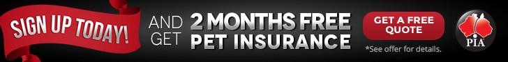 Pet Insurance Australia 2 months free pet insurance