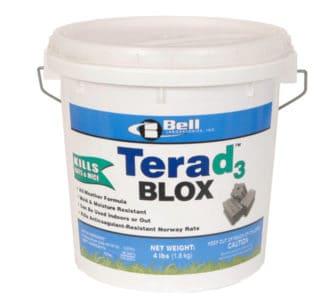 rat bait poison terad 2 cholecalciferol vitamin d3