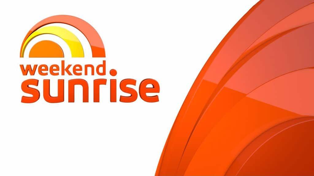 weekend sunrise logo