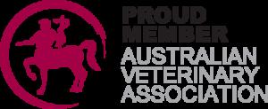 Member of the AVA australian veterinary association