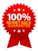 money back guarantee ribbon